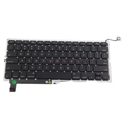 "Laptop Keyboard for Apple Macbook Pro Unibod A1286 15"" 2009 2010 US Layout Black"