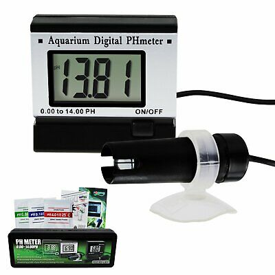 0 ~14.00 pH Meter Digital Water Quality Monitor Tester Hydroponic Aquarium Spa