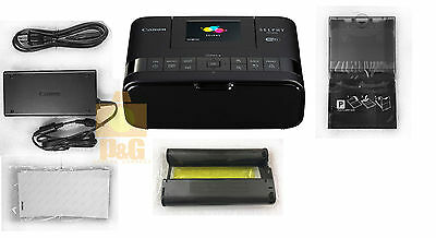 NEW BOXED CANON SELPHY CP1200 Black Wireless Compact Photo Printer
