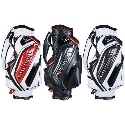 Deluxe PU Waterproof Cart Bag Trolley Carry 5 Way Divider 13 Golf Clubs INCD VAT