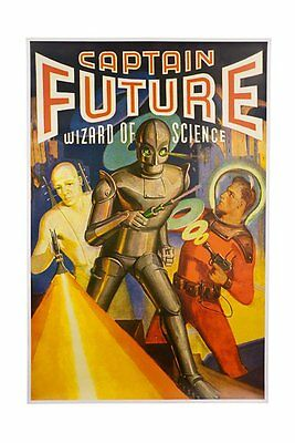 Captain Future Poster as seen on the Big Bang Theory