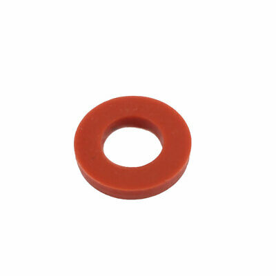 15pcs 19mm x 10mm x 3mm Silicone O Ring Seal Gaskets Red for Pipe Tube Hose