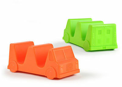 Fred Taco Truck Taco Holder 2 Pack Food Dinner Kitchen Serving Novelty Fun Dish