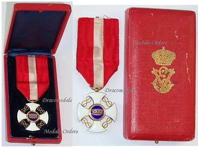ITaly WW1 Order Crown Knight's Cross Decoration Military Medal Merit 1914 BOXED