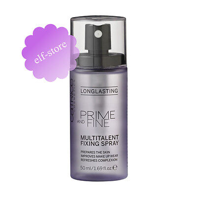 Catrice Prime And Fine Multitalent Fixing Spray MakeUp Setting Mist 50ml