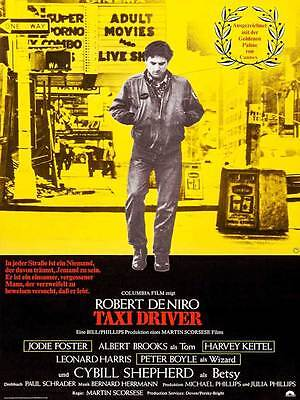 "Framed Classic vinatge movie poster ""Taxi Driver"" 30% off"