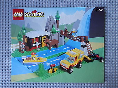 Lego 6552 - Rocky River Retreat - Construction Guide Only.