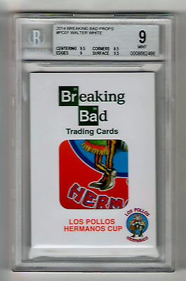 Breaking Bad Prop Material PC-01 Pollos Hermanos Cup Card 1:500 packs bgs 9.