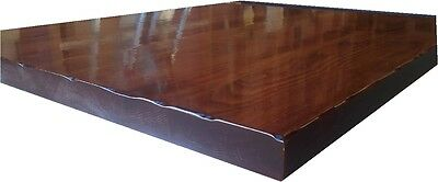 """Solid Hardwood  Table Tops  30"""" x 48"""" Nationwide Shipping 1 1/4"""""""