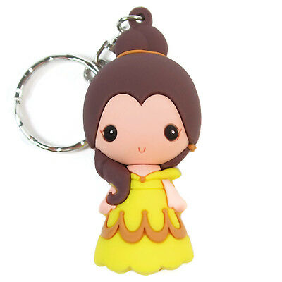 Disney 3D Figural Keyring Series 1 BELLE KEYCHAIN Beauty and the Beast Blind Bag