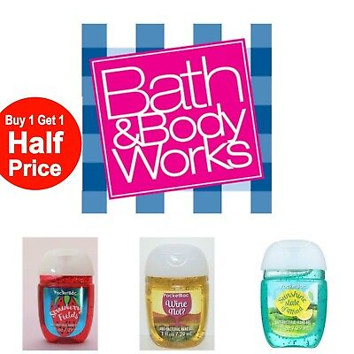 Bath and Body Works PocketBac Hand Gel Summer Scent Over 40 Scents---U Choose!