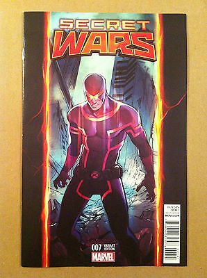Secret Wars (2015) #7 Stacy Lee Cyclops Variant Cover Nm Near Mint 1St Printing