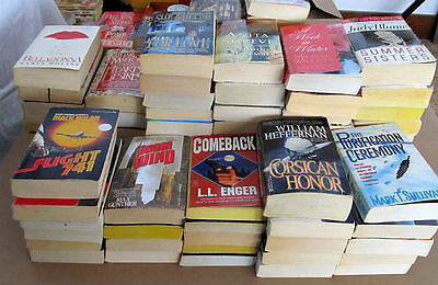 Lot of 5 lbs. Assorted FICTION Paperback BOOKS - FREE SHIPPING