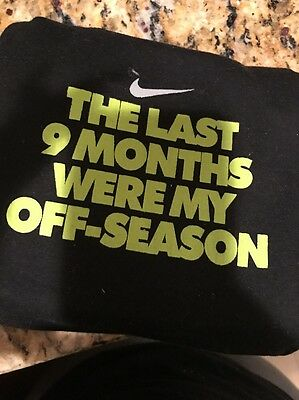 Nike, The Last Nine Months Were My Off Seaon, 3 Piece Set, 0-6 months.