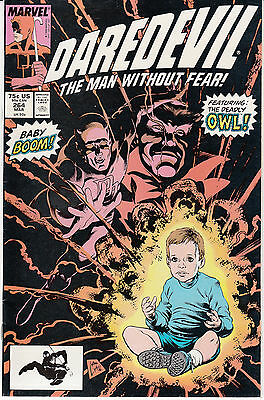 Daredevil #264 (March 1989, Marvel) The Owl