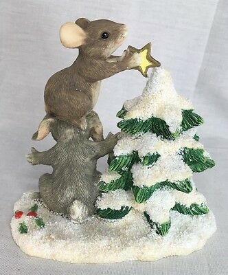Charming Tails Decorating The Tree Dean Griff Silvestri