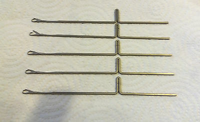 Brother Knitting Machines Parts 4.5Mm Kr850 Kr830 Ribber Needles X 49 Used