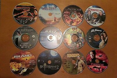 RARE and HARD TO FIND DISCOUNTED DVD'S   DISCS ONLY  NO ARTWORK