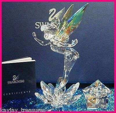 Swarovski Tinkerbell ~ New In Box ~ 905780 ~ Retired 2008 ~ Free Shipping  ~