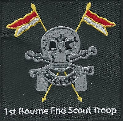 Collectable embroidered 'Death Or Glory' badge (Scouts, Lancers)