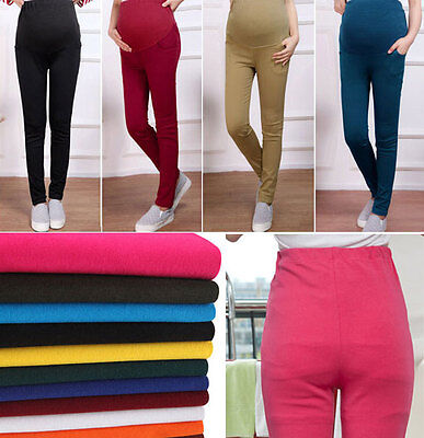 Hot Newest Ladies Pregnant Woman Hold up Abdomen Leggings Pants Trousers