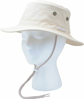 Sloggers 4471st Classic Cotton Hat with Wind Lanyard Rated UPF 50 Plus Maximum S