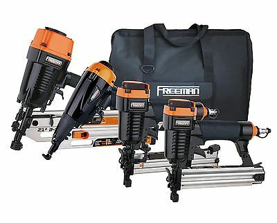 Freeman P4FRFNCB Framing/Finishing Combo Kit with Canvas Bag