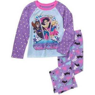 TROLLS Girls 6 8 10 12 Pjs Set PAJAMAS Short Sleeve Shirt Top ...