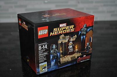Lego Sdcc Comic Con 2015 Throne Of Ultron #351 New Sealed Box Marvel Avengers