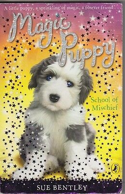 Old English Sheepdog Story Magic Puppy  School Of Mischief