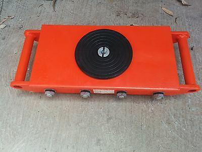 Industrial Skate 12 tonnes Heavy Roller Machinery Mover Cargo Trolley