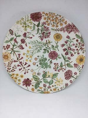 Royal Stafford Dinner Plate England 11 Inches Floral Hedgerow