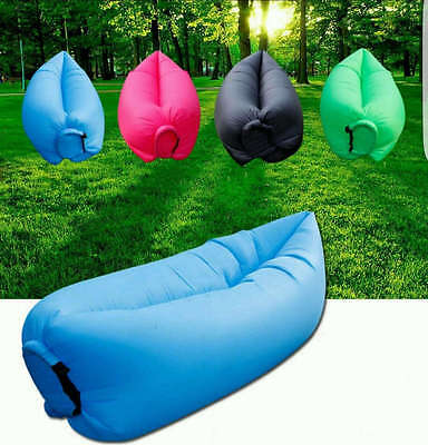 Mat Magic Inflating Mattress Bed Float Camping Inflatable Full