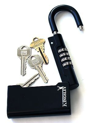NEW Kingsley Guard-a-Key Key Storage Lock- Real Estate Lock Box, Realtor Lockbox