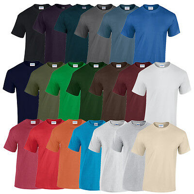 Gildan Heavy Cotton T-Shirts Heavyweight M L Xl Xxl Neu Shirt Herren Baumwolle