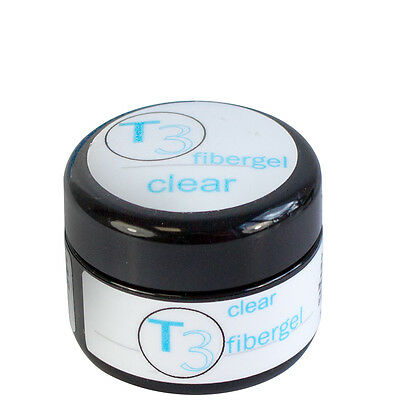 SNB Professional T3 UV Gel Fibergel Clear 5g /0.17oz