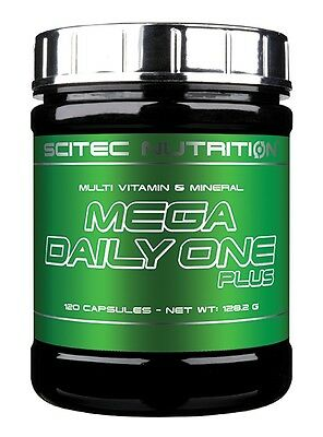 Scitec Nutrition - Mega Daily One Plus, 120 Kapseln - Multivitamin, Multimineral
