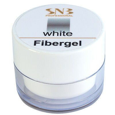 SNB Professional T3 UV Gel Fibergel White 20g / 0.70oz