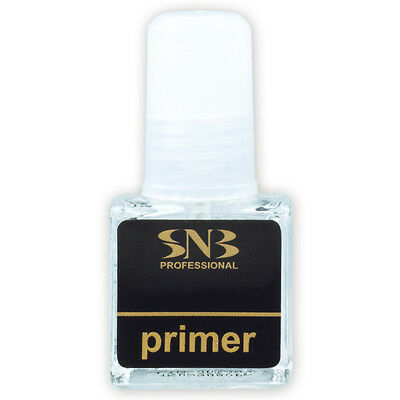 SNB Professional Nail Primer Art Tips Tool for T3 UV Gel Fibergel - 6ml brush
