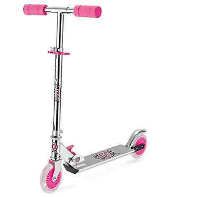 """Xootz TY5718 """"In-Line Easy Folding"""" Scooter with LED Light up Wheels"""