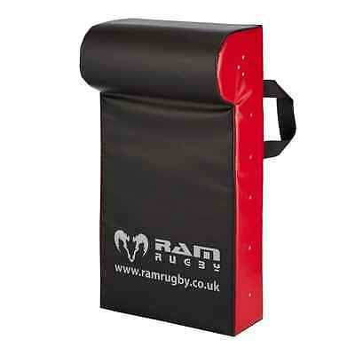 Ram Rugby Hit Shield - Contact Pad - Senior - 2.5kg - Black / Red, Water Resista