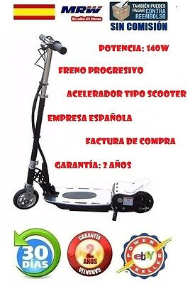 Patinete Electrico Elements Easy Stream Plus 140W 15Km Patin Scooter.envio 24H
