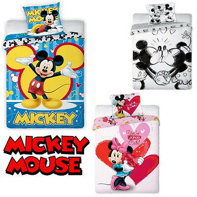 disney bettw sche 135 x 200 micky maus minnie mickey kinderbettw sche bett eur 18 99 picclick de. Black Bedroom Furniture Sets. Home Design Ideas