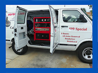 Truck Mount Carpet & Tile Cleaning Machine Model 47 XL DUAL WAND