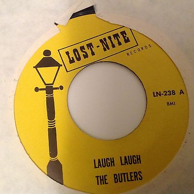 Butlers-Laugh Laugh/butlers Theme-Lost Nite Ln 238. Vg++