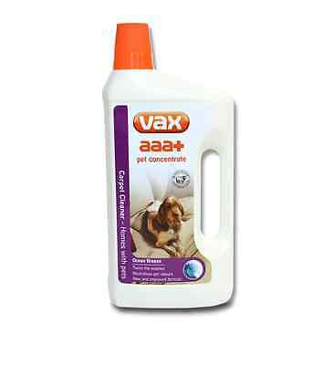 Vax 1L AAA+ Concentrate for Pets Cleaning Solution, White