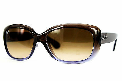 Ray Ban Sonnenbrille/Sunglasses JACKIE OHH RB4101 860/51 Gr.58 Inkl. Etui
