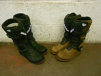 Wulfsport Wulf Sport Trials boot boots black brown offroad off road riding