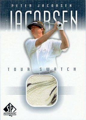 Peter Jacobseb - 2000 01 - UD SP Authentic - Tour Swatch