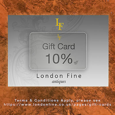 Antique Gift Card – London Fine Discount – Birthday, Fathers Day, Mothers Day